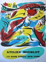 Andre Masson at Atelier Mourlot