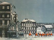 Horse Guards Parade No.3. Winter