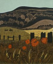 Poppies and Downs (No.4)